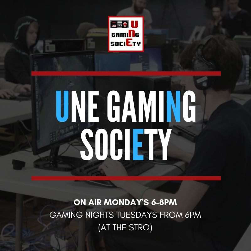 UNE GAMING SOCIETY