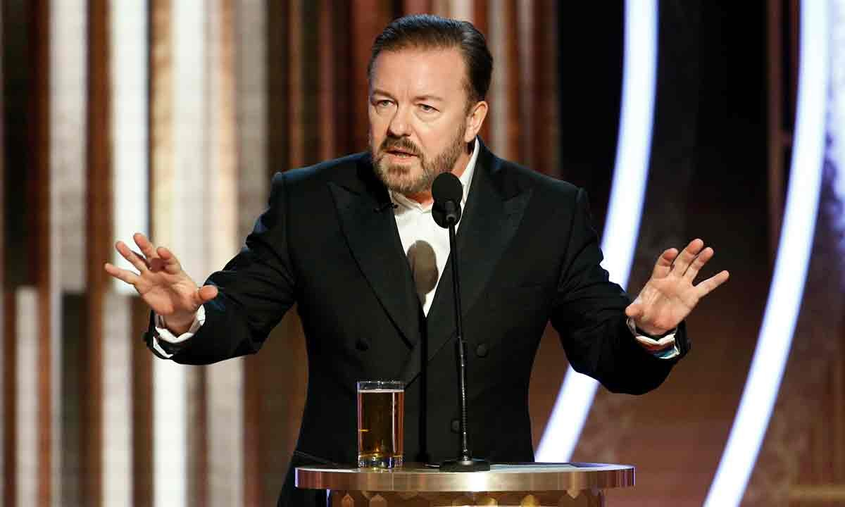 Ricky Gervais Golden Globes 2020 Opening Monologue 00